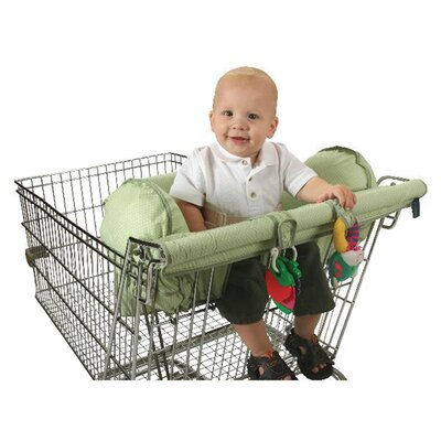 <strong>LeachCo</strong> Prop R Shopper Body Fit Shopping Cart Cover in Green Dot
