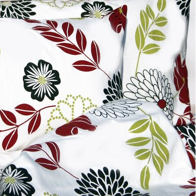 Floral Printed Extra Deep Pocket Flannel Sheet Set