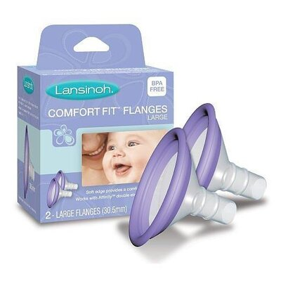Lansinoh Affinity Comfort Fit Flange (Set of 2)
