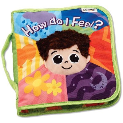 Lamaze How Do I Feel? Cloth Book
