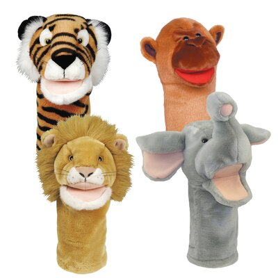 Get Ready Kids Bigmouth Zoo Puppet Set