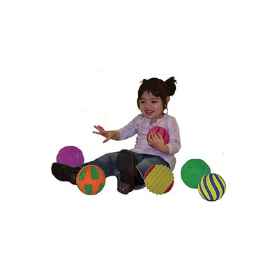 Get Ready Kids Tactile Squeak Balls (Set of 6)