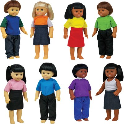 Get Ready Kids Dolls Set (Set of 8)