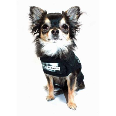Hip Doggie Skull Fleece Dog Vest