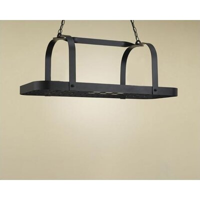 Hi-Lite Baker Rectangular Hanging Pot Rack