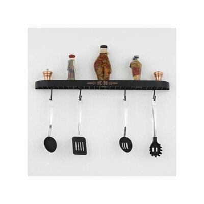 "Hi-Lite Monterey 24"" Wall Mounted Pot Rack"
