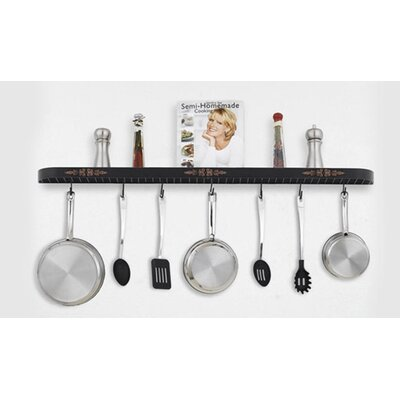 Hi-Lite Monterey Wall Mounted Pot Rack