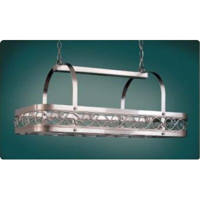 Hi-Lite Odysee Rectangular Hanging Pot Rack
