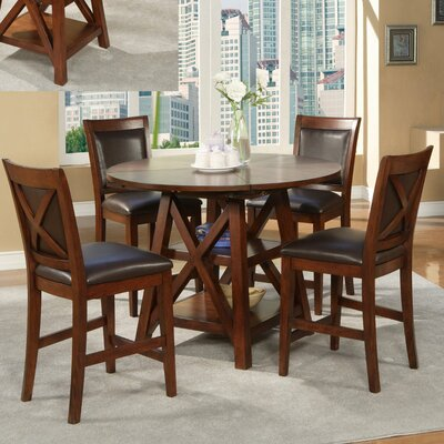 Alpine Furniture Oberlin Dining Table Set