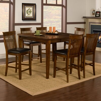 Alpine Furniture Oakdale Dining Table Set
