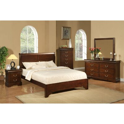 Alpine Furniture West Haven Slat 3 Piece Bedroom Collection
