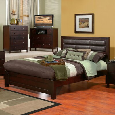 Alpine Furniture Solana Platform Bedroom Collection