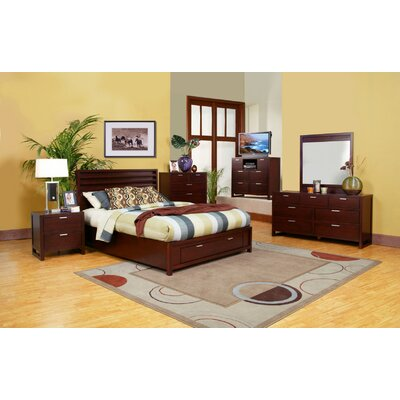 Alpine Furniture Camarillo Platform Bedroom Collection