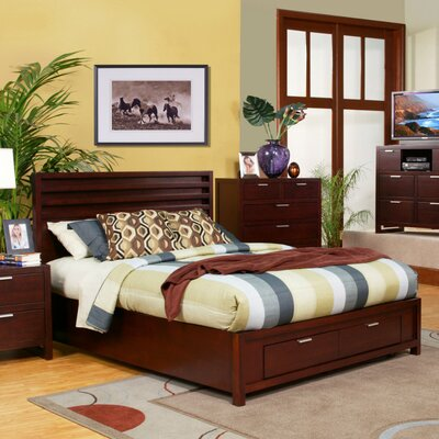 Alpine Furniture Camarillo Storage Panel Bed