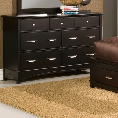 Alpine Furniture Del Mar 7 Drawer Dresser
