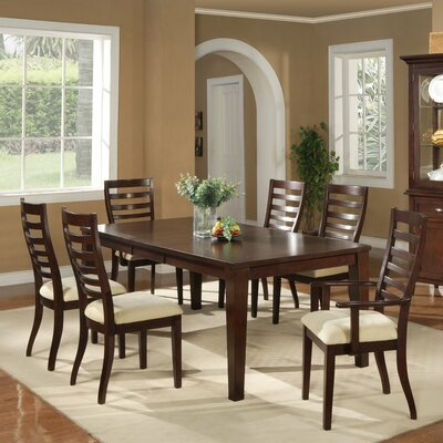 Alpine Furniture Livingston 7 Piece Dining Set