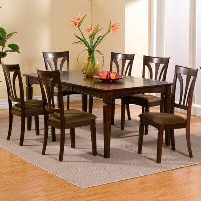 Alpine Furniture Antioch 7 Piece Dining Set
