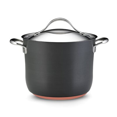 Nouvelle Copper 8-qt. Stock Pot with Lid