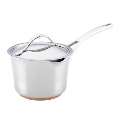 Anolon Nouvelle Copper Core 3.5-qt. Saucepan with Lid