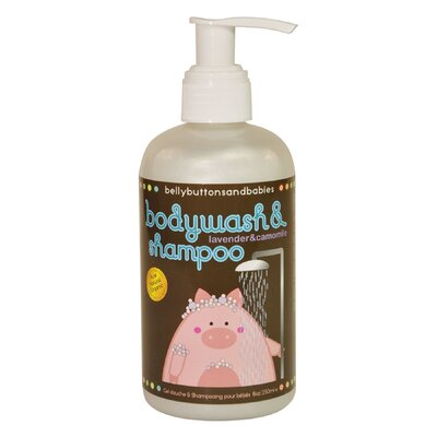 Belly Buttons and Babies Lavender Chamomile Body Wash and Shampoo (8 oz.)