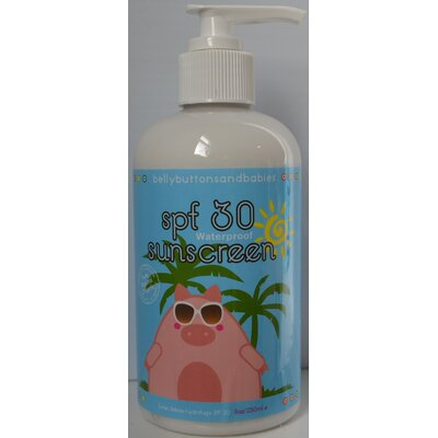 Belly Buttons and Babies SPF 30 Sunscreen Lotion (8 oz.)