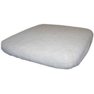 Regency Products Synthetic Sheepskin Wheelchair Cushion Cover