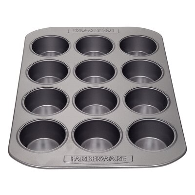 Nonstick Carbon Steel 12 Cup Muffin Pan