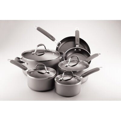 Farberware Enhanced 10-Piece Non-Stick Cookware Set