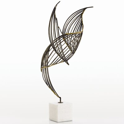 ARTERIORS Home Cai Sculpture in Antique Brass