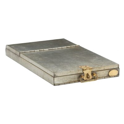 ARTERIORS Home Nelson Metal / Brass French Safety Deposit Box