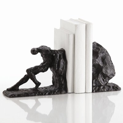 ARTERIORS Home Jacque Bookends with Gold Highlights Book End (Set of 2)