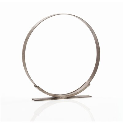 ARTERIORS Home Kobe Ring Sculpture in Zinc