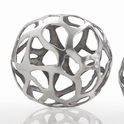 ARTERIORS Home Ennis Web Sphere Sculpture