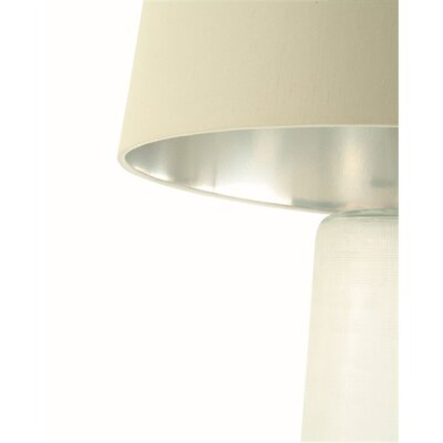 "ARTERIORS Home Linen Etched 21.5"" H Table Lamp with Drum Shade"