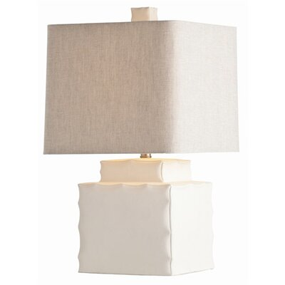 "ARTERIORS Home Thorpe 25"" H Table Lamp with Square Shade"