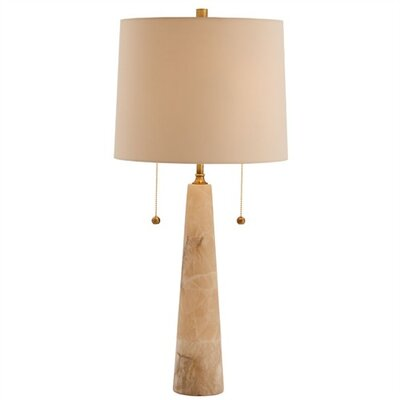 Sidney Snow Marble / Brass Table Lamp