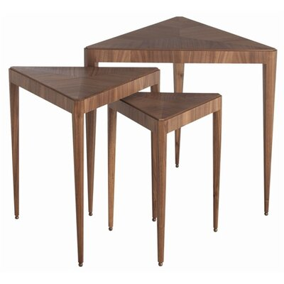 ARTERIORS Home Ori Walnut Veneer and Solids 3 Piece Nesting Tables