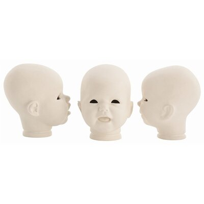 ARTERIORS Home Snoki Porcelain Doll Head (Set of 3)