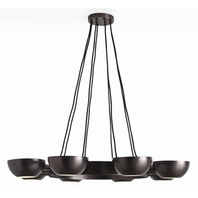 ARTERIORS Home Sorrel 8 Light Iron / Glass Chandelier