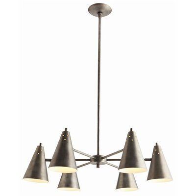 Sherman 6 Light Chandelier