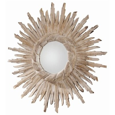 ARTERIORS Home Versailles Hand Carved Solid Wood Starburst Mirror