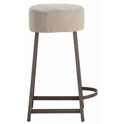 ARTERIORS Home Rochefort Iron / Wood / Linen Counter Stool