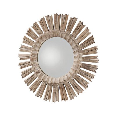 ARTERIORS Home Vendome Hand Carved Solid Wood Starburst Mirror