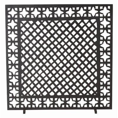 ARTERIORS Home Houston 1 Panel Iron Fireplace Screen