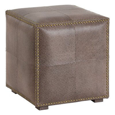 ARTERIORS Home Grayton Leather Ottoman