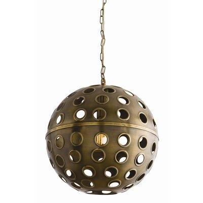 Gala 1 Light Globe Pendant