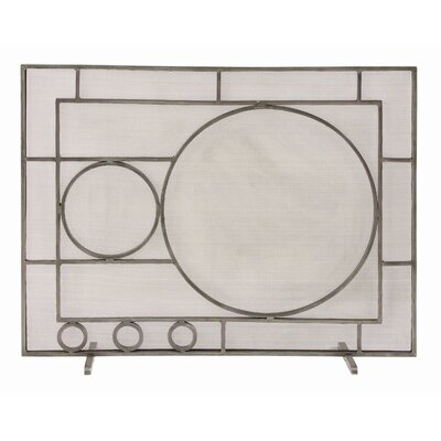ARTERIORS Home 1 Panel Iron Fireplace Screen