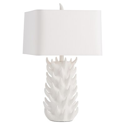 """ARTERIORS Home Gomer 28"""" H Table Lamp with Square Shade"""