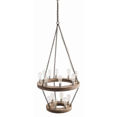 Geoffrey 15 Light Mini Chandelier