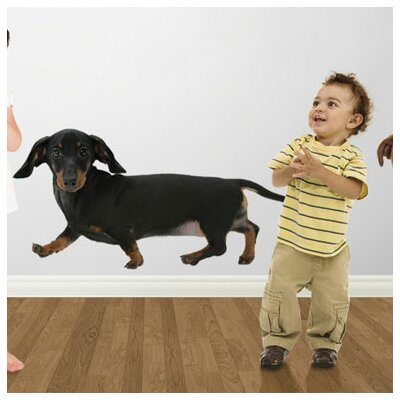 4 Walls Puppy Love Miniature Dachshund Wall Decal